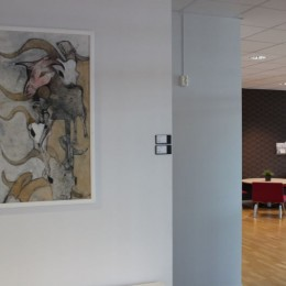 """""""Twelfth Floor"""" - Kenneth Engblom - Solo Exhibition in Kista Science Tower, Stockholm"""