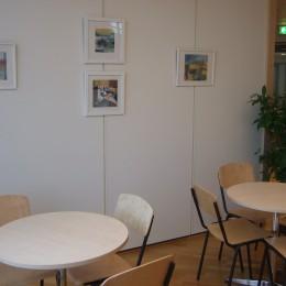 """Ann (AnnJo) Johansson & Birgit Björklund """"Thirteens Floor"""" - Duo exhibition in Kista Science Tower, Stockholm"""