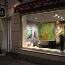 Lena Wahlstedt 'Stråk av färg' Solo exhibition at Gallery Upsala 1810, Uppsala, Sweden