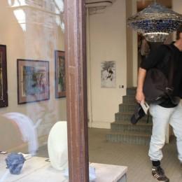 """First Encounter"" Sweden - Estonia - France ... at Gallery Tersaeus, Hornsgatspuckeln, Stockholm, Sweden"