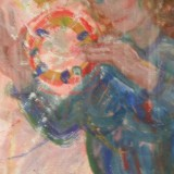Irene Hansson-Dans till tamburin