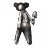 markus-kasemaa-figure-with-ears-of-russian-cartoon-hero-tsheburashka-holding-a-spade