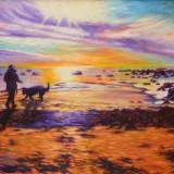 Kjell Fogborn-Vid havet