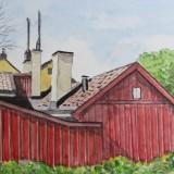 Bertil Eriksson-Hus vid Sista Styverns Trappor