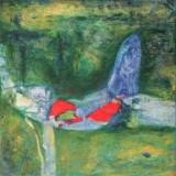 Ana Maria Lorenzen-Un rayo de sol sobre el verde del mar