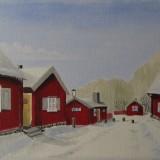 Lars Eriksson-Söder snö miniature
