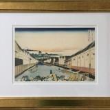 Katsushika Hokusai-Nihonbashi in Edo
