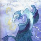 Josefine Walther-Befjädrad drake