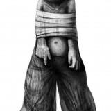 Markus Kasemaa-Lontis pükstega poiss seotud kätega
