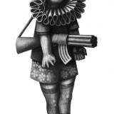 Markus Kasemaa-Tüdruk püssiga