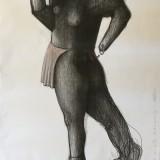 Markus Kasemaa-Rulluiskude ja pôllega figuur