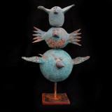 Lisa Leander Ahlgren-Tre fåglar