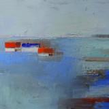 Lena Ehn-Hus vid havet