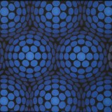 Lars Eriksson-Blue Polyglobe / Polyglobe bleu