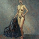kristin-iren-dijkman-nude-with-red-shoes