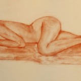 Kristin Irén Dijkman-Nude sleeping