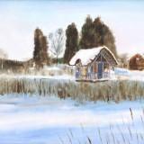 Kristin Irén Dijkman-Nordisk vinterlandskap fra JÑrna 1