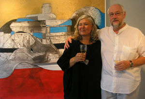 Rita Gustavsson & Kenneth Engblom, art curators